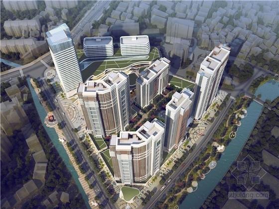 [福建]现代风格商业及住宅片区规划设计方案文本(造型新奇)