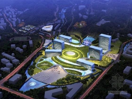 [江西]现代风格景区游客中心建筑设计方案文本(知名设计院)