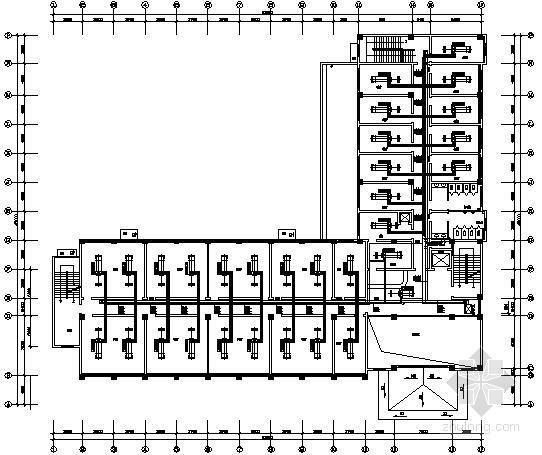 [山东]招待所中央空调设计图纸