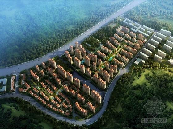 [山东]欧式风格高端住宅区规划设计方案文本(2个地块)