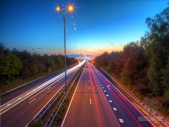 市政道路改扩建路面设计及交通工程施工图CAD