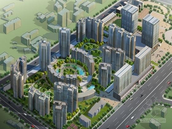 [武汉]某小区规划及单体设计方案文本