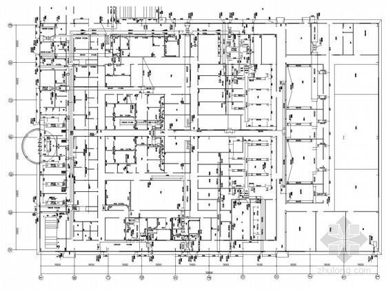 [湖南]医药车间改造工程空调通风烟系统设计施工图