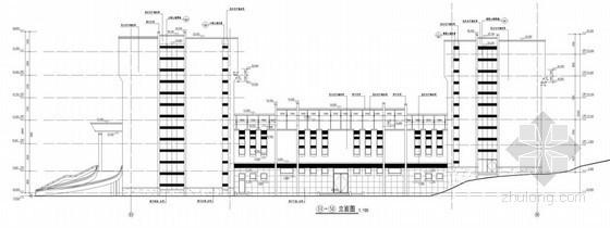 某六层人民法院审判楼建筑施工图