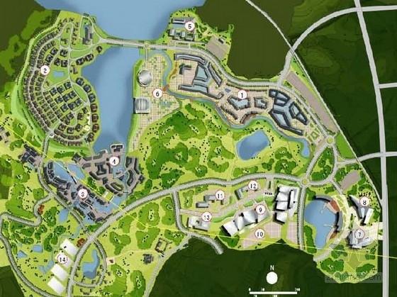 [南京]镇区城市设计总体规划方案