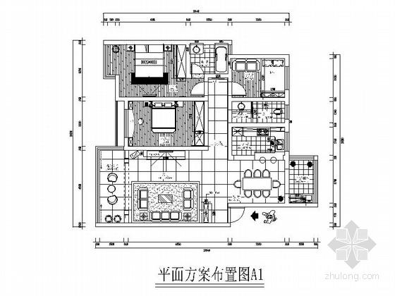 家装装修CAD吊顶图资料下载