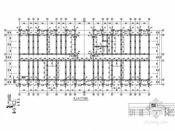 [湖南]地上五层砌体结构宿舍楼结构施工图