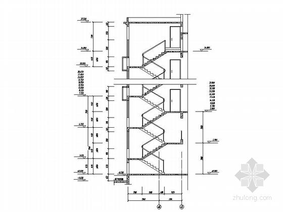 [深圳]古典风格城镇中心地块高层商住两用建筑施工图-古典风格城镇中心地块高层商住两用建筑局部大样图