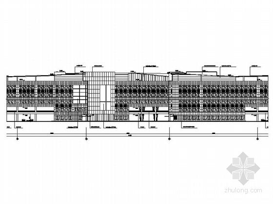 [浙江]某六层商务办公楼建筑施工图