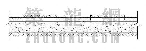 道路卵石槽详图-2