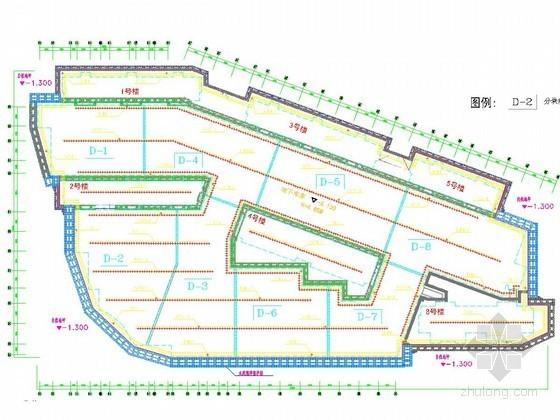 [上海]安置房工程基坑轻型井点降水施工方案(含CAD图)