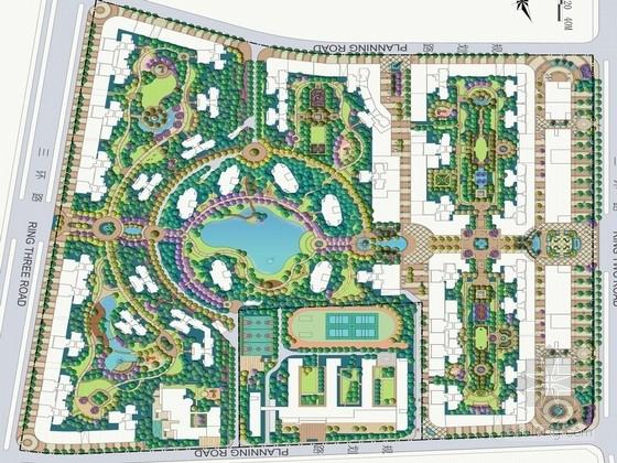 [福建]欧式新古典主义风情商业住宅设计方案(国外知名设计)