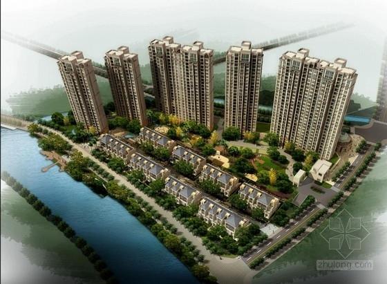 [浙江]欧式古典风格高层奢华住宅建筑设计方案文本(含两套方案)