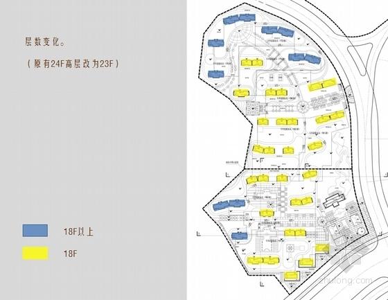 [山东]法式风格中高档住宅小区规划设计方案文本-法式风格中高档住宅小区分析图
