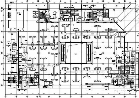 [上海]32万平城市综合体暖通空调全套施工图143张(冷热源机房 负荷计算书)