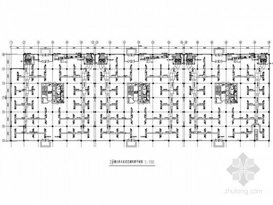 高层购物中心空调系统设计施工图