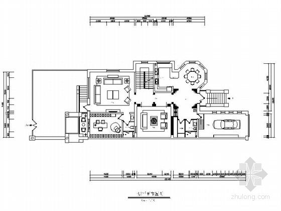 [河北]优雅现代风格两层联排别墅施工图(含效果图)