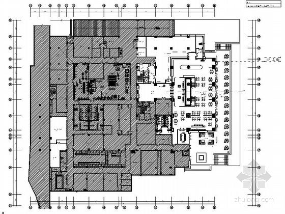 [西藏]藏式民族特色度假酒店全日制餐厅施工图(含效果图)