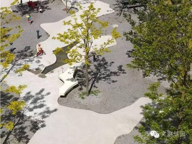 瑞士苏黎士合作式住宅景观设计