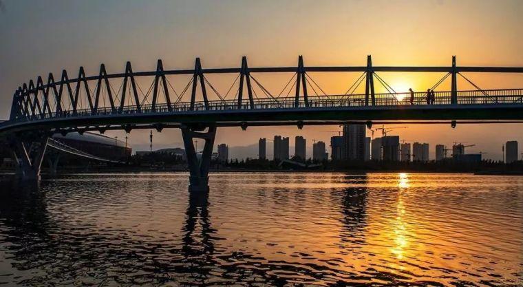 """太原""""汾河之冠""""人行景观桥,尽展结构技艺之美!_22"""