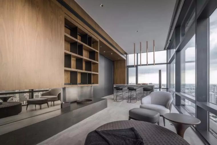 室内设计 130㎡的单身公寓,设计感十足_12