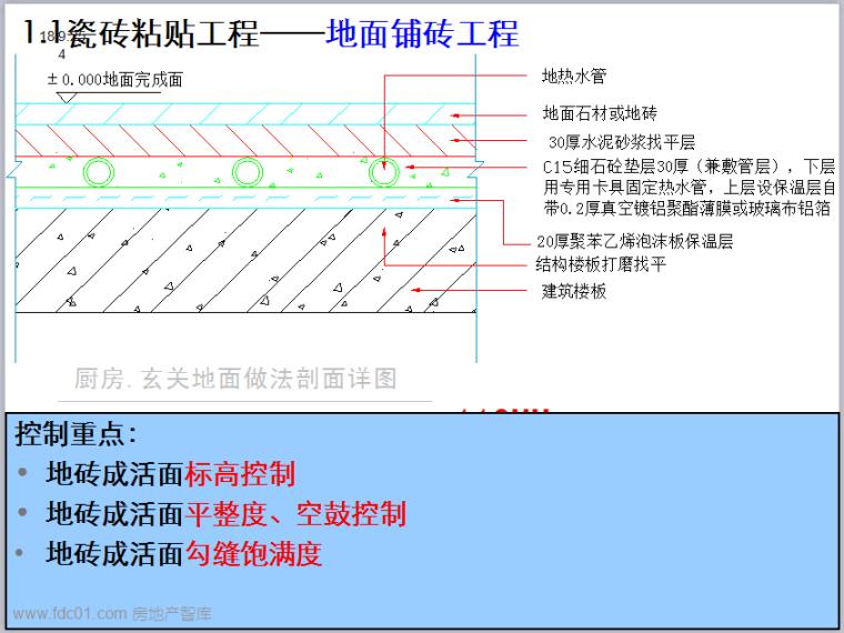 万科集团北京区域装修房工艺节点及经验分享