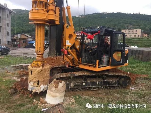 旋挖机钻孔灌注桩施工技术