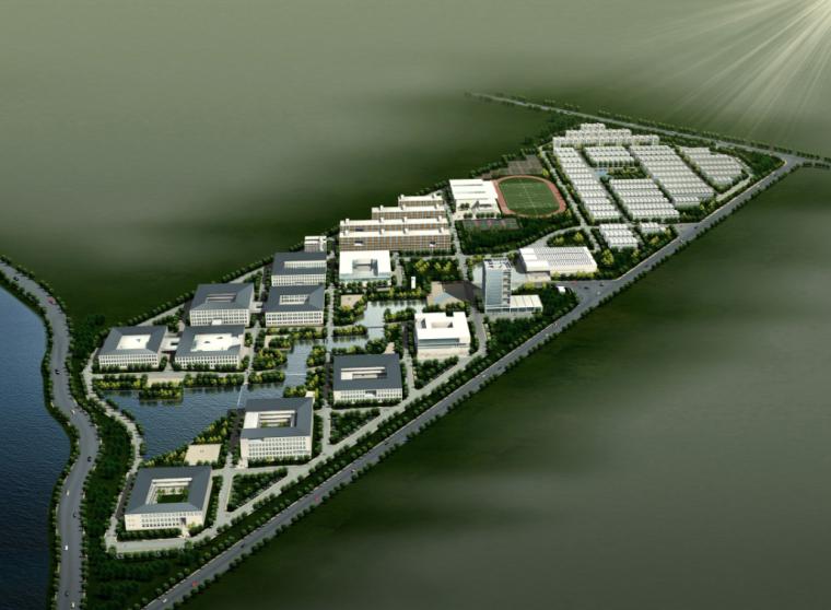 [湖北]美院建筑方案文本(CAD施工图)