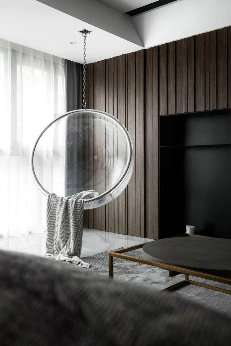 最简单的黑白灰,塑造最高级的家!_2