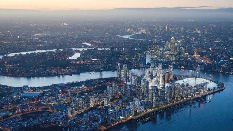 "Greenwich半岛 | Lower Riverside,伦敦的""终极村庄"""