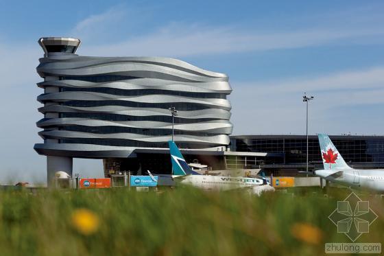 加拿大埃德蒙顿国际机场综合办公楼_5