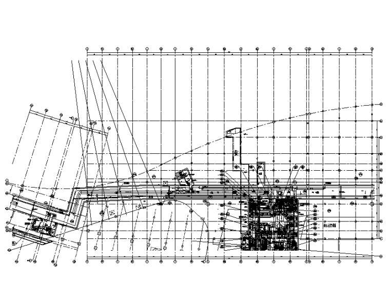 某大型航站楼全套暖通设计施工图