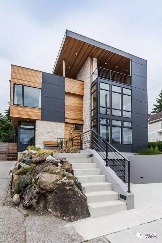 40款·简洁的现代别墅设计_28