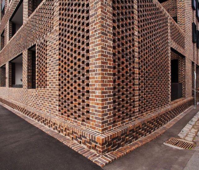 砖的艺术,看看如何把砖赋予艺术性的用在建筑上?_2