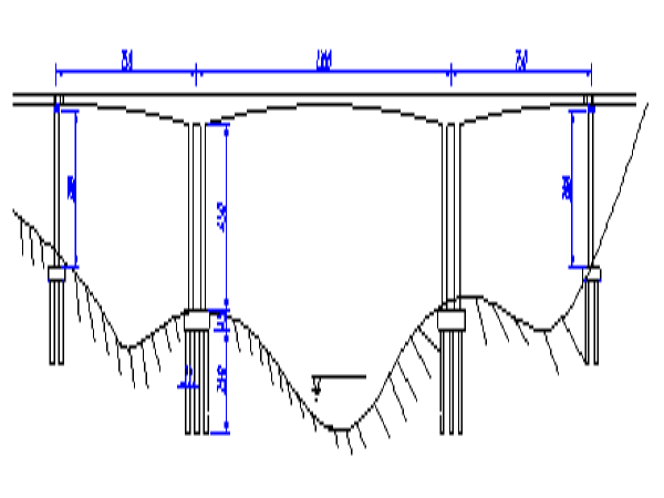 预应力混凝土栏杆详图设计资料下载-公路预应力混凝土连续刚构桥设计