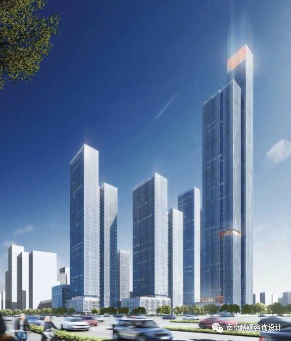 BIM设计案例一:南京河西金融城二期