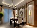 某新中式风格别墅室内装修设计施工图及效果图