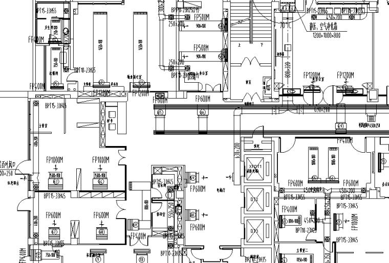 安徽某住宅楼暖通施工图