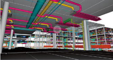 BIM技术助力世园会园区地下管廊主体贯通