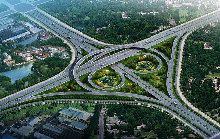 城市快速路互通立交工程施工组织设计(172页)