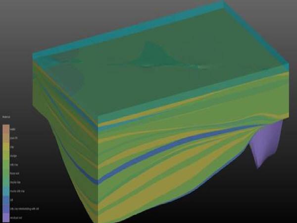 EVS案例:隧道三维地质模型-国内某湖底隧道