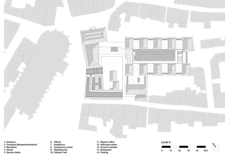 全新代芬特尔市综合体建筑平面图 (19)