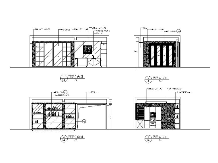 【北京】两套时尚经典别墅设计CAD施工图二_3