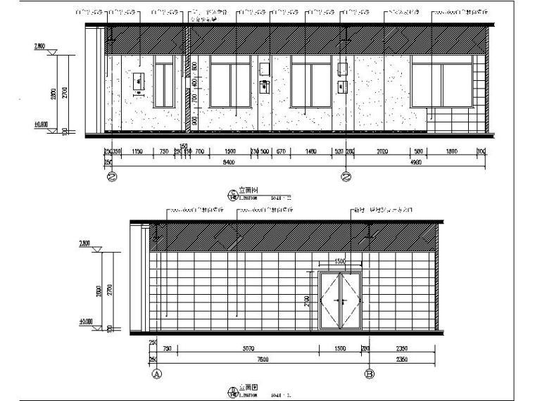 [北京]某医疗器械公司食堂装修设计施工图(含效果图)_3