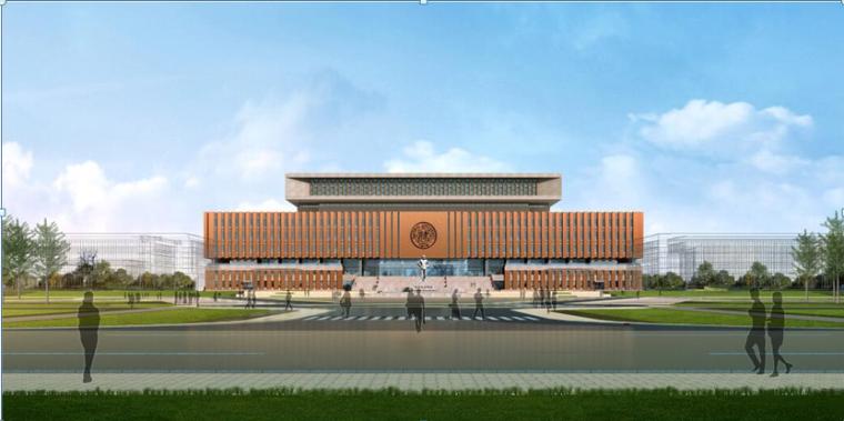 天津南大新校区(津南校区)图书馆工程施工组织设计(106页)