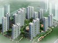 [浙江]萧山新区现代风格居住区规划方案