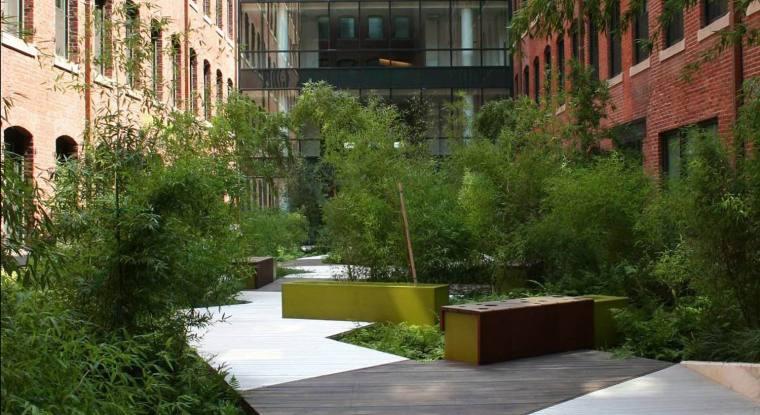 美国南波士顿新闻大厦花园