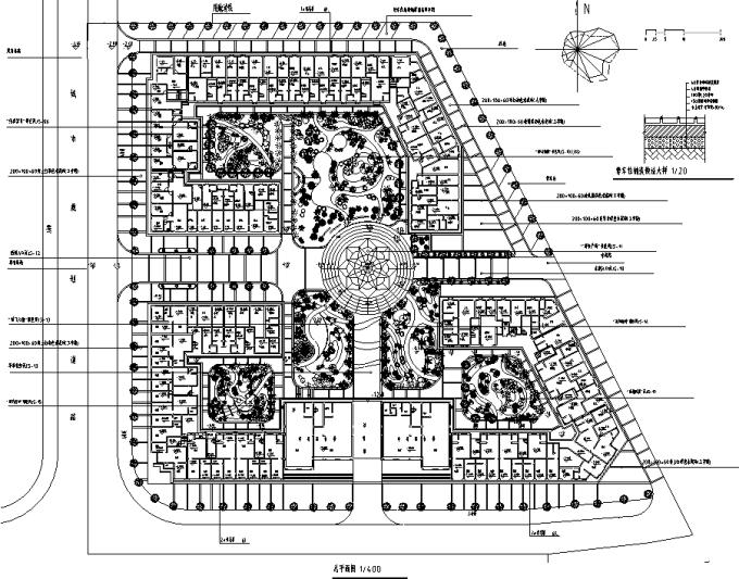 [广西]生态田园山野居住社区景观设计施工图