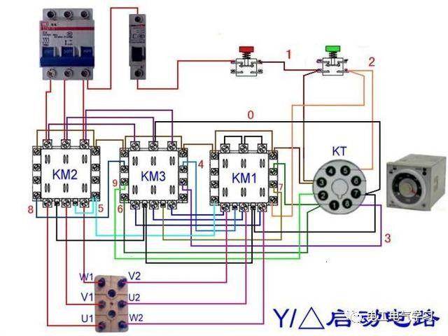【电工必备】开关照明电机断路器接线图大全非常值得收藏!_94