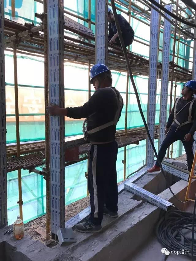 玻璃幕墙与装饰收口问题及施工流程_7